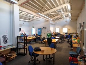 A wide photo of the new space at Norris Green Library